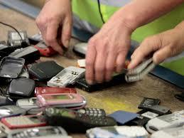 Recyclage de téléphone cellulaire usagé Québec