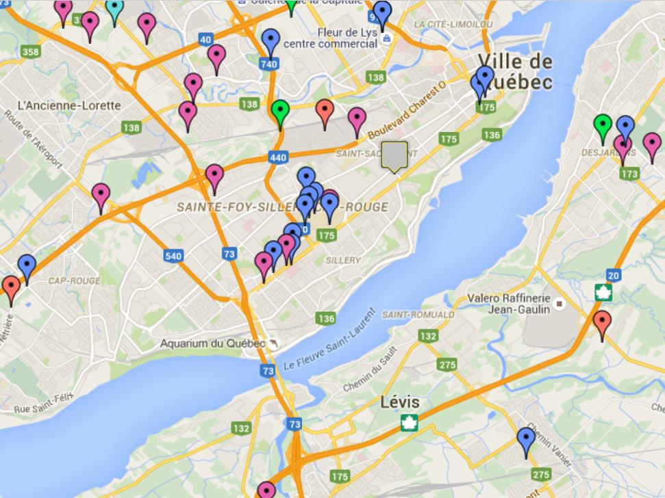 Recyclage Ordinateur Québec Points de dépôt